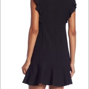 NWT rebecca taylor Ruffle suit dress